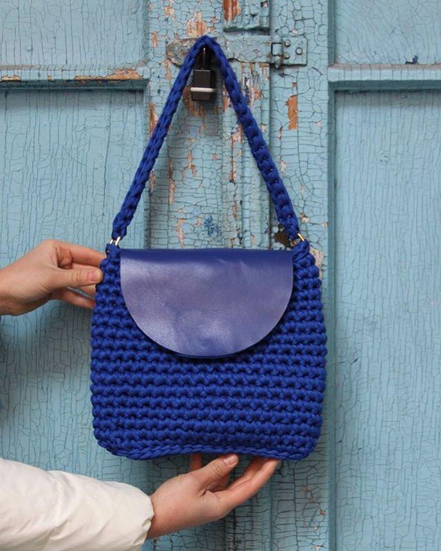 WEBSTA @ nantitas_made - Almost done ✅#crochet #instaknit #instacrochet #knit #knitting #knitting_inspiration #knittingbag  #crochetbag #купуйукраїнське #madeinuzhgorod #ручнаяработа #handmade #nantitasmade #вяжутнетолькобабушки #instacrochet #tshirtyarn #bobbiny #trapillo #livingcrochet #summerbag #sun #beach #woki1 #woolandthegang #unique #leather #crochetaddict #handcraft #handmadebag #unique #leather