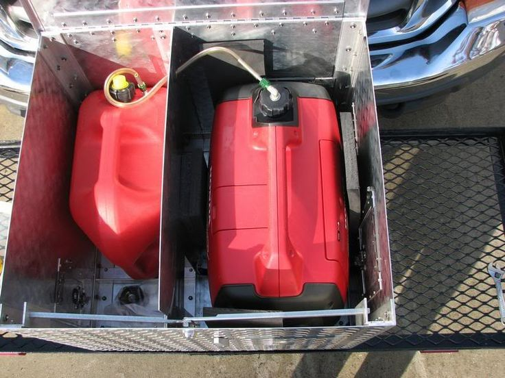 RV.Net Open Roads Forum: My Honda 2000 generator box with lot's of pictures