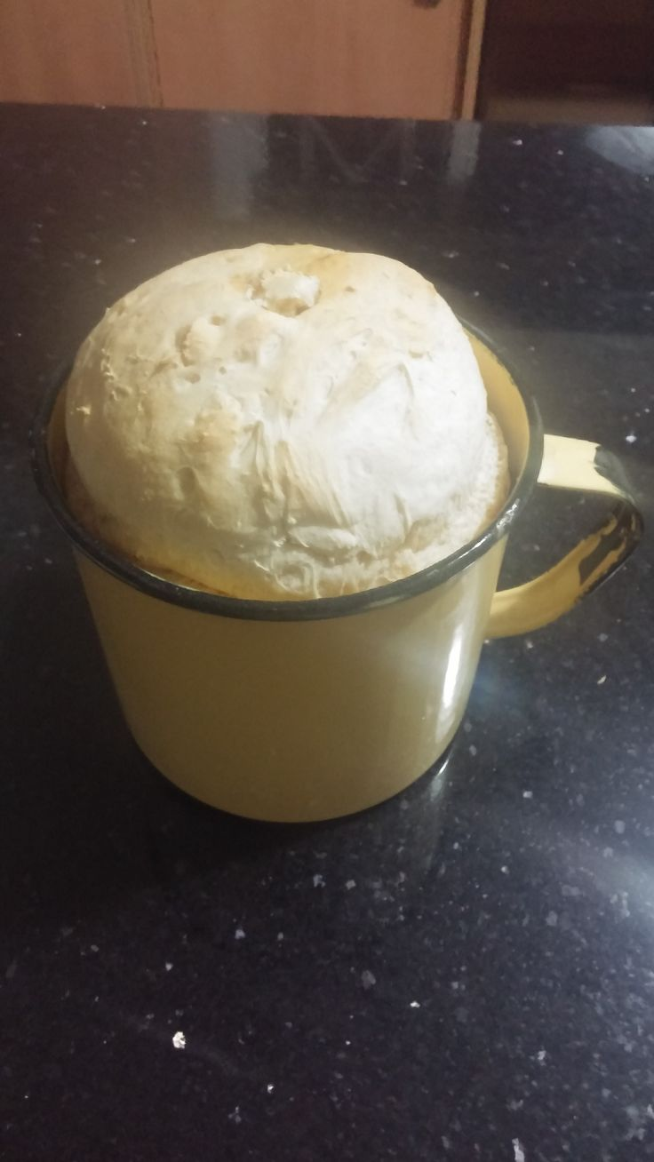 Baked a bread in this mug. Will be great for bunny chow
