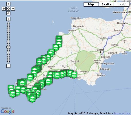 25 melhores ideias de Cornwall map no Pinterest  Histria da