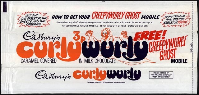 'CADBURY'S CURLY WURLY