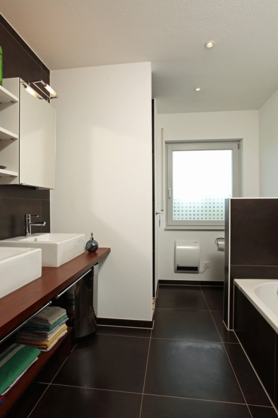 fertighaus wohnidee badezimmer bravur 130 - Wohnideen Badezimmer