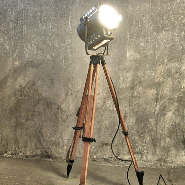 Filmscheinwerfer: vintage Fabriklampen
