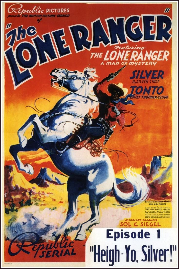Disney lone ranger coloring pages -  El Llanero Solitario The Lone Ranger 15 Episodios Republic Dir John English William Witney Stars Silver King The Horse Chief Thundercloud