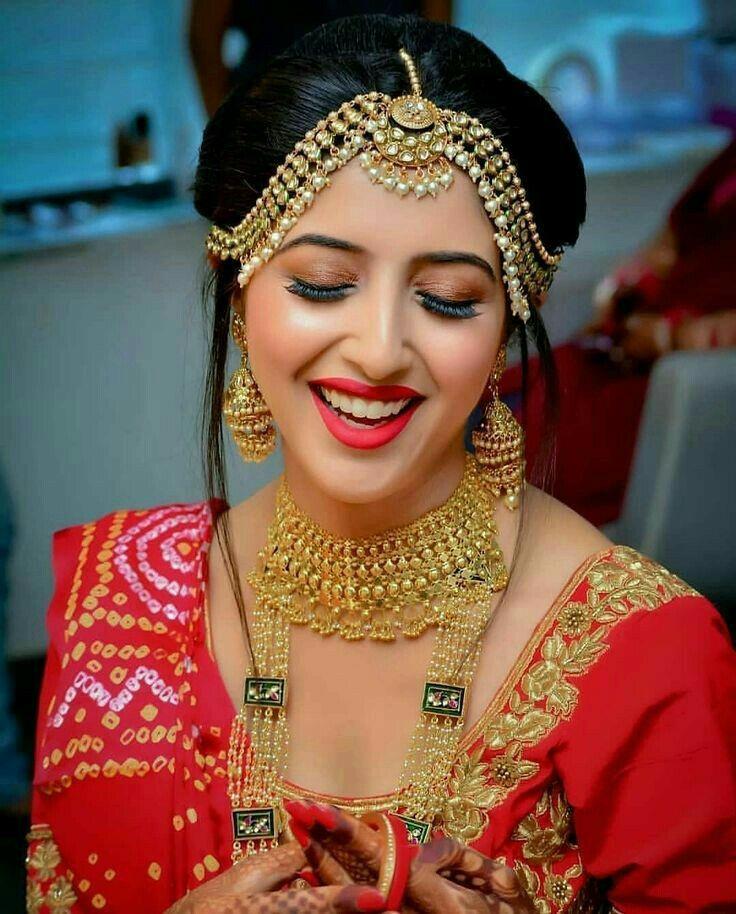 Hindu Bridal Hairstyles 14 Safe Hairdos For The Modern: Indian Bridal Makeup By Safayet Jamil Nafi On Gallari