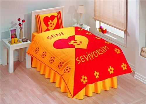 Fanatik Galatasaray - 100% Cotton Nevresim Tk
