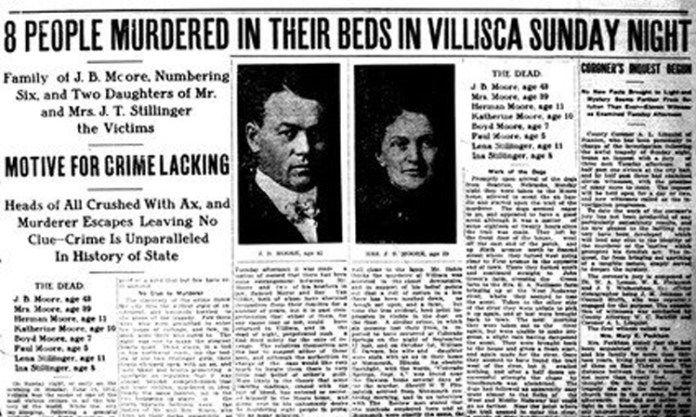 villisca murders axe murders usa | Listen To These Horrifying EVP's of Screams in The Villisca Axe Murder ...
