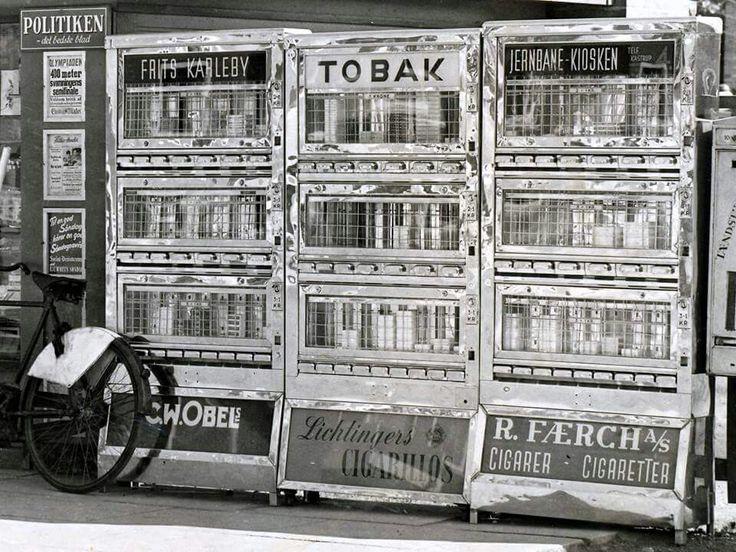 De gamle automater.