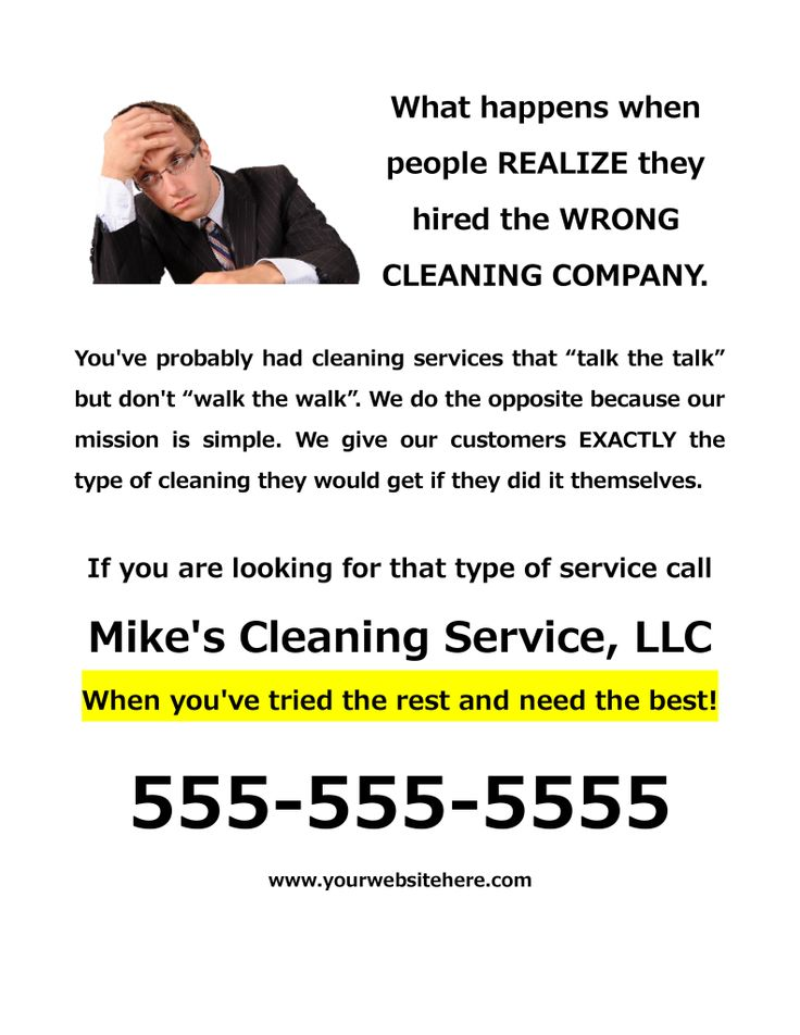 people looking for cleaning services