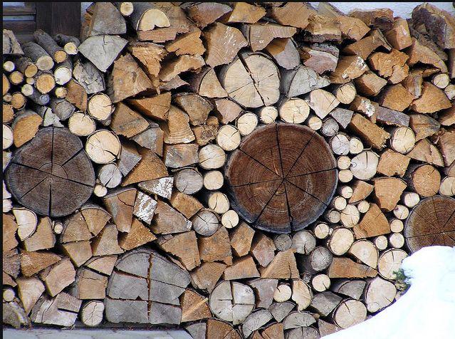 Best Wood Pile Images On Pinterest Fire Wood Firewood - Creative firewood storage ideas turning wood beautiful yard decorations
