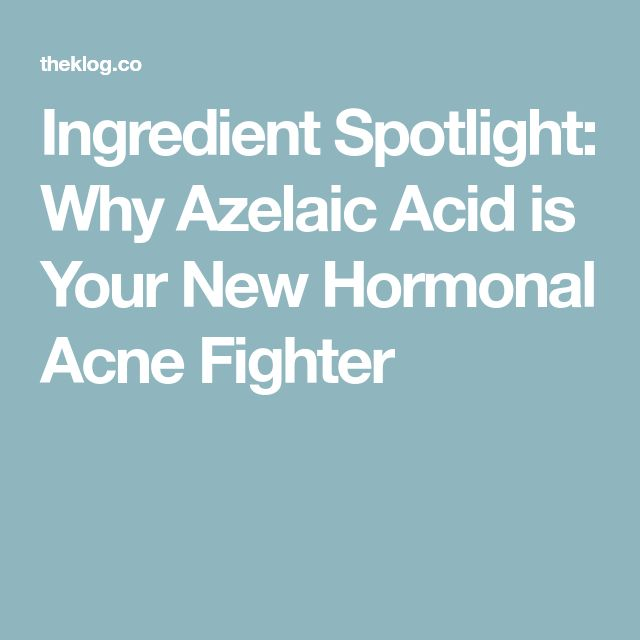 Ingredient Spotlight: Why Azelaic Acid is Your New Hormonal Acne Fighter