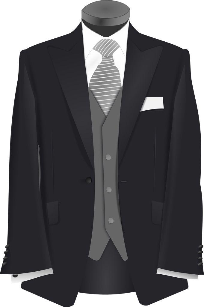 [フリーイラスト素材] クリップアート, ファッションアイテム, 衣服 / 衣類, タキシード, 結婚式 / ウェディング / ブライダル ID:201311040500
