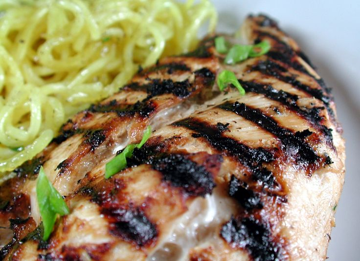 Try these recipes for cooking up chicken on the grill tonight, from thai chicken legs to honey-garlic chicken breasts at Food.com.