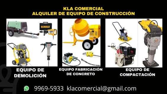 Alquiler Equipo Construcci N Outdoor Power Equipment Power Honduras