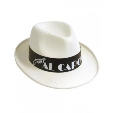 Карнавал белая шляпа аль капоне