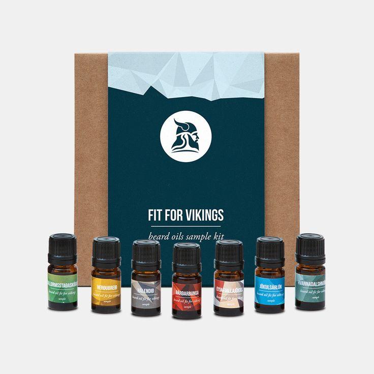 Beard Oils Sample Kit