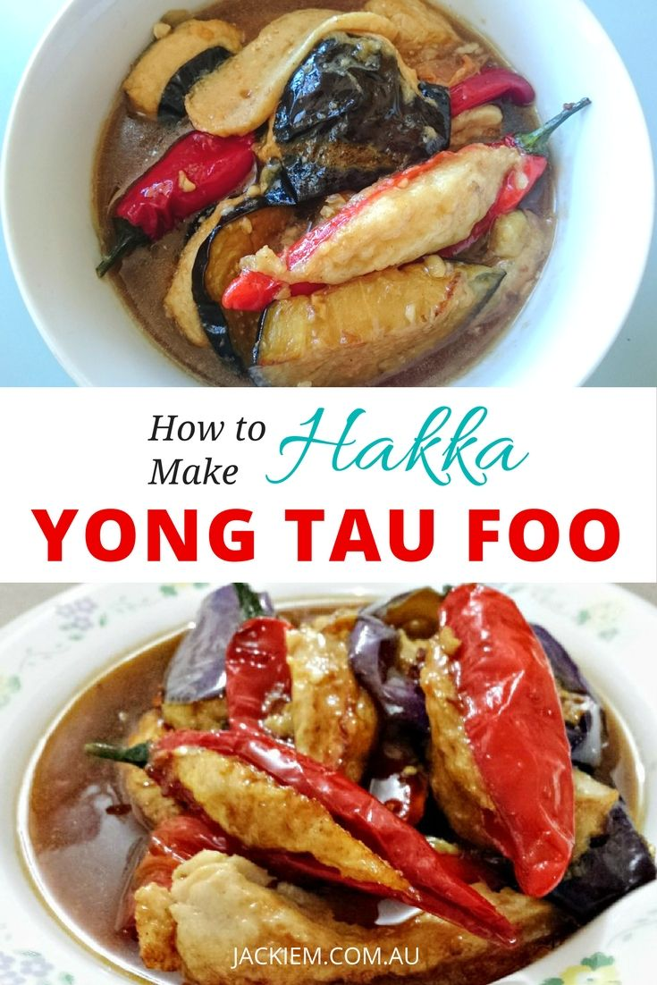 Here's How to Make Hakka Yong Tau Foo from Jackie M's LIVE Asian Kitchen...