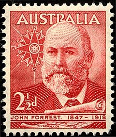 John Forrest - stamped in history