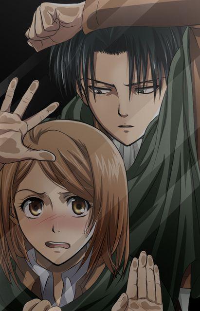 Attack_on_Titan, Levi and Petra, i just love this couple sooooooooo much <3