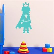 Wallsticker Prins