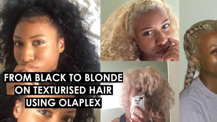 Platinum Blonde on Transitioning Texturised Hair | aokikira