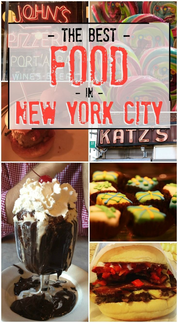 New York City has some of the best food in the country! Check out all of our favorite bites in the Big Apple!