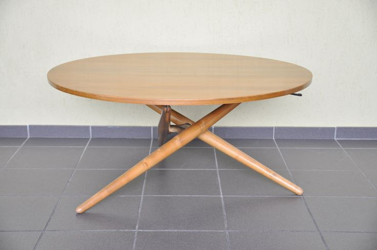 Wohnhilfe Zürich Jürg Bally Ess-Tee-Tisch achtgrad designklassiker Krefeld