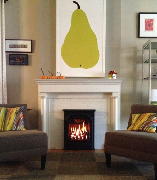 PRESIDENT Gas Insert Offers True Vintage Style Yet Compliments The Modern  Decor In This Old Home
