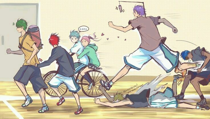Смешные картинки аниме баскетбол куроко