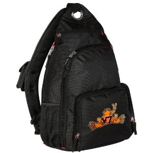 Virginia Tech Peace Frog Sling Backpack One Strap Backpacks for Travel or School Bags - BEST QUALITY Unique Gifts For Boys, Girls, Adults, College Students, Men or Ladies (Apparel)  http://www.99homedecors.com/decors.php?p=B005Y0RBTO  B005Y0RBTO