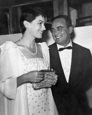 Silvana Mangano and Dino De Laurentiis
