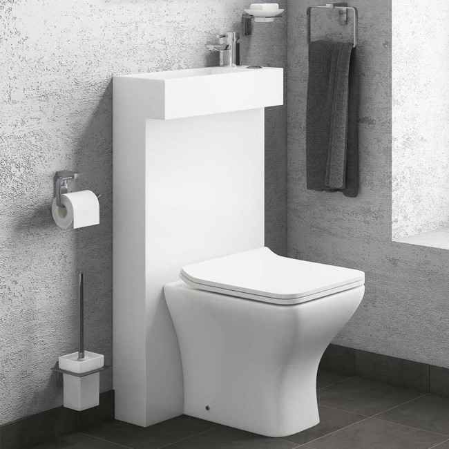 Drench All In One Compact Toilet Basin Shroud With Concealed Cistern Toilet And Sink Unit Toilet Sink Toilet