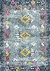 At nuLOOM we believe that floor coverings and art should not be mutually exclusive. Features:• Style: Southwestern, Transitional, Vintage• Material: 100% Polypropylene• Weave: Machine Made• Origin: Turkey