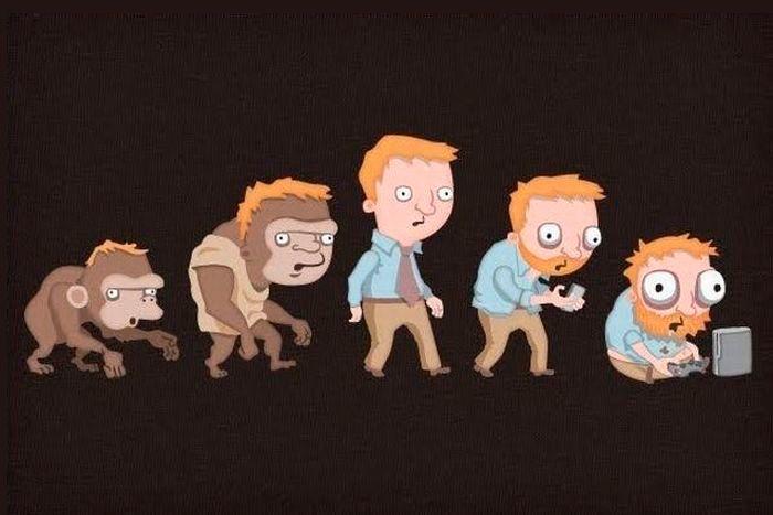 Эволюция где-то свернула не туда...