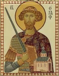 Feast of St. Olaf; Christian Religious Observance; July 29; King of Norway and national hero; noted for unifying and christianizing the country. His shrine became the Cathedral of Trondheim, a major pilgrimage center for all Scandinavia. Patron saint of Norway.