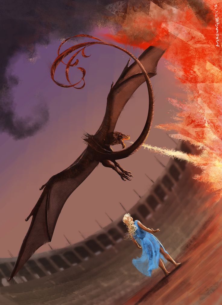 game of thrones dragons dracarys