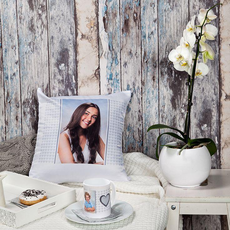 Mug & cushion cover design