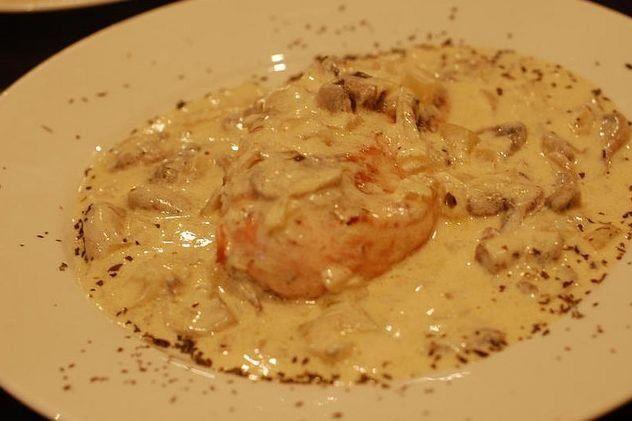 Foto de la receta de pechugas de pollo con salsa de - Platos de pollo faciles ...