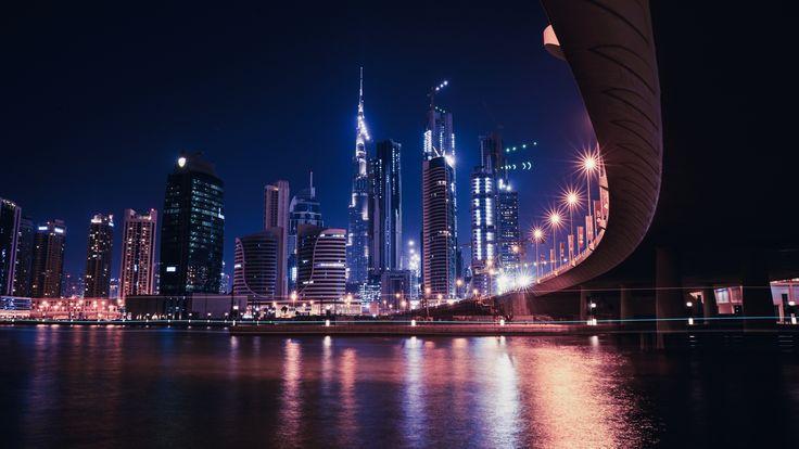 2560x1440 Wallpaper dubai, united arab emirates, skyscrapers