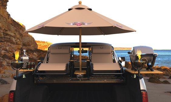 truck Bed seating truck mounted seats tailgating accessories 1 - Toyota Tundra Второе поколение (2007—2013) - Галерея - Тойота Тундра Клуб