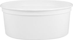 24 OZ WHITE OPEN HEAD POLYPROPYLENE PRY-OFF PLASTIC CONTAINER | Ideal for storing things ranging from food and liquids to industrial products. Call us at 630-629-6600 for more compatibility information. Lid sold separately. #plastic #snap #on #top #container