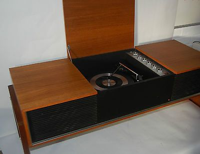 restored teak 1970s retro kolster brandes record player turntable stereogram full working order. Black Bedroom Furniture Sets. Home Design Ideas