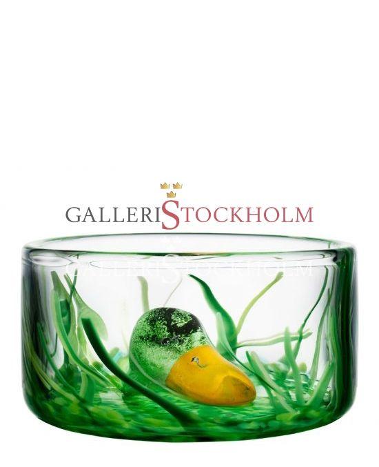 Ernst Billgren - Glaskonst - New friends - Skål Anka Beställ här! Klicka på bilden.