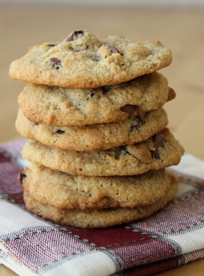 Almond Flour Chocolate Chip Cookies {Grain-Free} - Got great reviews! Use a low carb sweetener instead of the brown sugar and low carb chocolate..