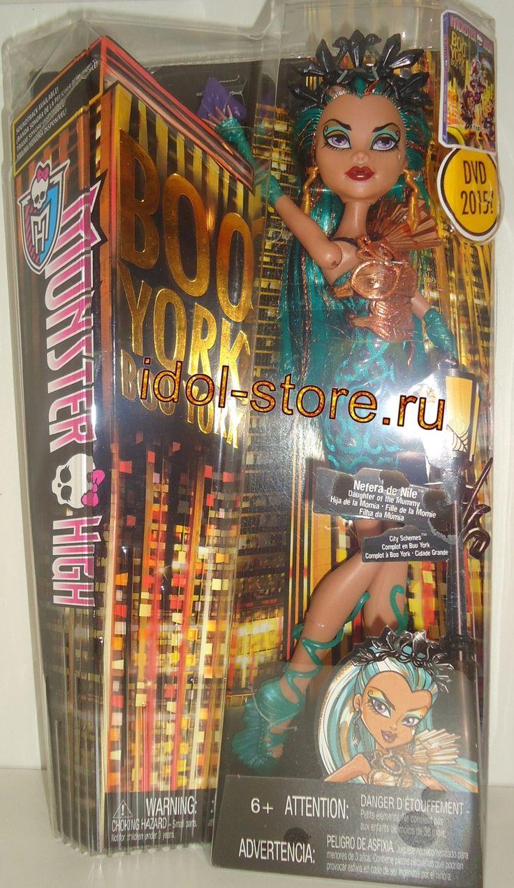 """Monster High Boo York, Boo York - City Schemes - Nefera de Nile fashion doll. Монстр * Монстер Хай, кукла Нефера * Нифера де Нил из серии """"Бу-Йорк - Город Схем"""". Название спецсерии мультфильма о Школе Монстров """"Монстрический Мюзикл: Бу-Йорк, Бу-Йорк"""""""