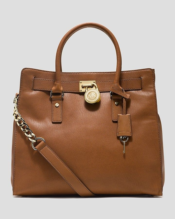 MICHAEL Michael Kors Tote - Hamilton Pebbled Large North South on shopstyle.com