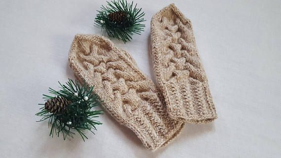 Mittens Women's mittens Knit mittens Hand knitted Hand