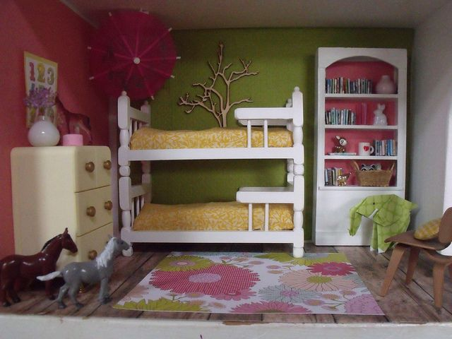 little girls miniature bedroom