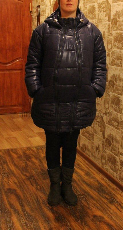 Мастер-класс: слингокуртка для беременных | Шкатулка