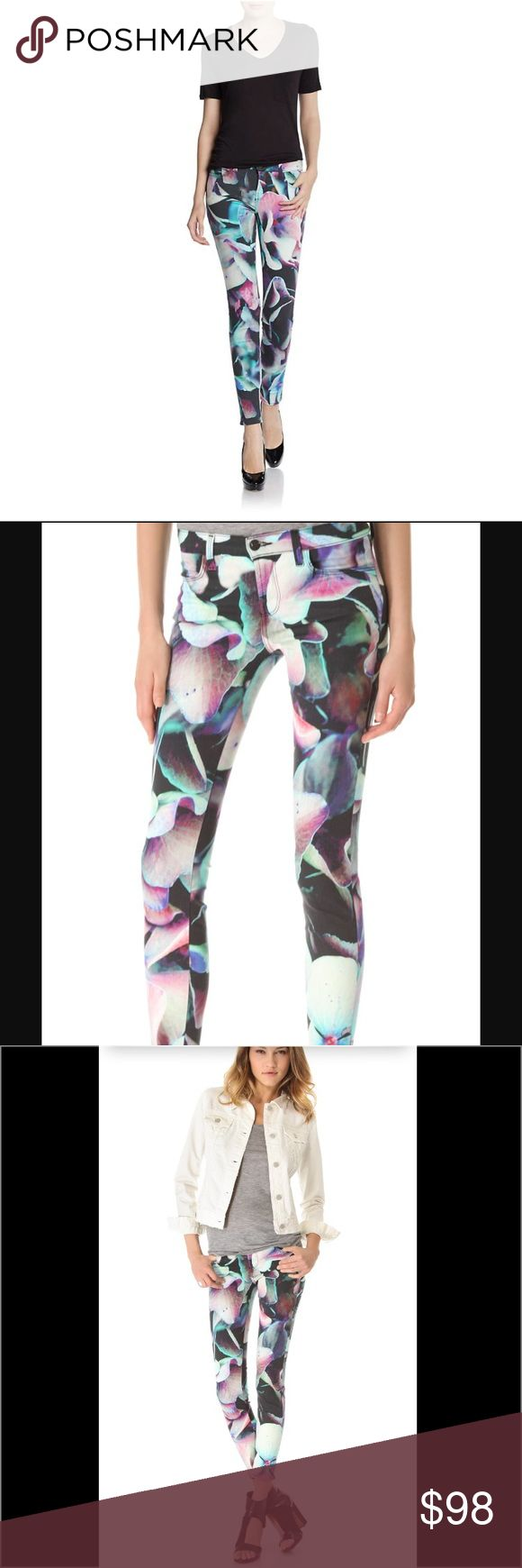 J Brand Floral Skinny Jeans J Brand Floral Skinny Jeans.  Adorable to wear this Spring and Summer to your favorite festival or outing! J Brand Jeans Skinny